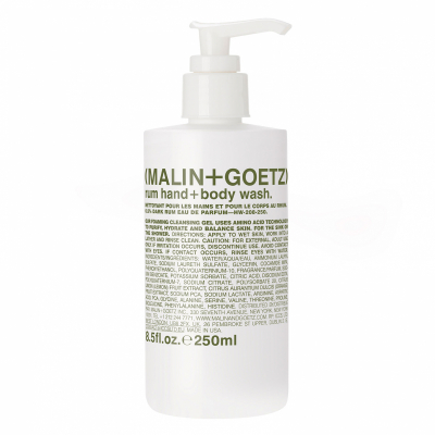 Malin+Goetz Rum Hand + Body Wash (250ml)