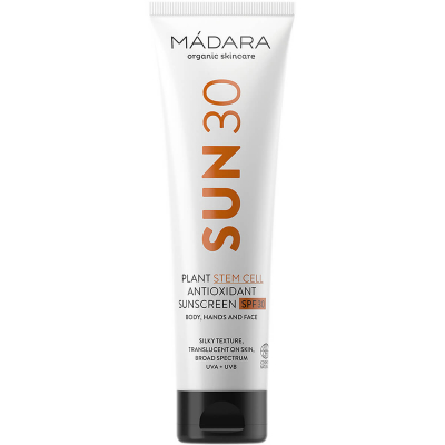 MÁDARA Plant Stem Cell Antioxidant Sunscreen SPF30 (100ml)