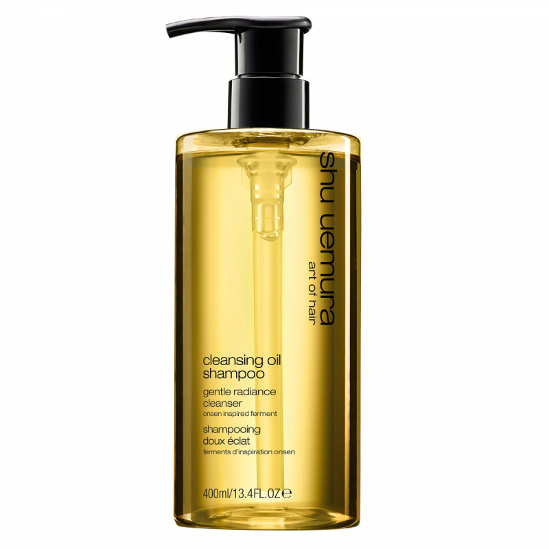 Shu Uemura Cleansing Oil Gentle Radiance Cleanser (400ml) ryhmässä Hiustenhoito / Shampoot / Shampoot at Bangerhead.fi (B020665)